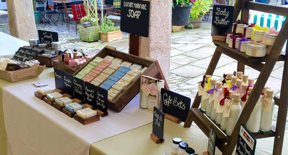 Saponista's Artisan Soap Stall